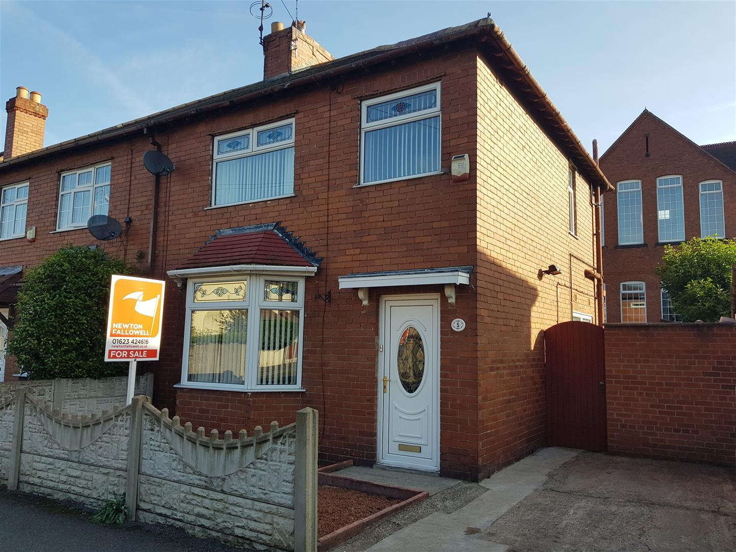 3 Bedrooms Semi Detached House for sale in Woodland Grove, Warsop, Mansfield